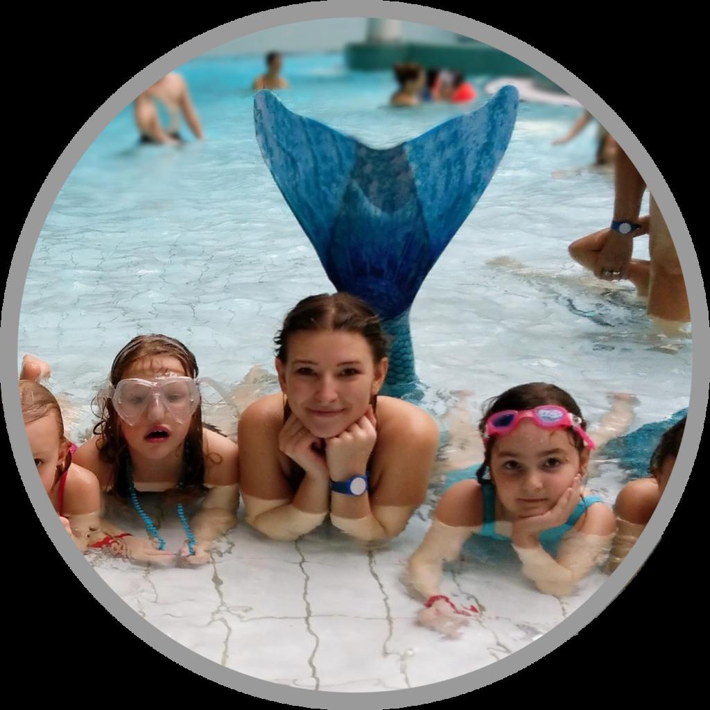 Meerjungfrauen Party im Dianabad